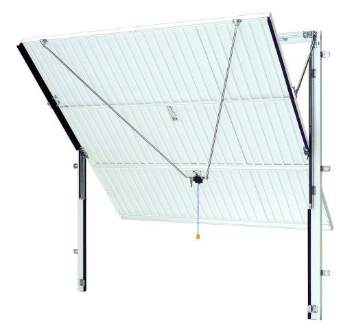 Up and Over Canopy door with steel frame