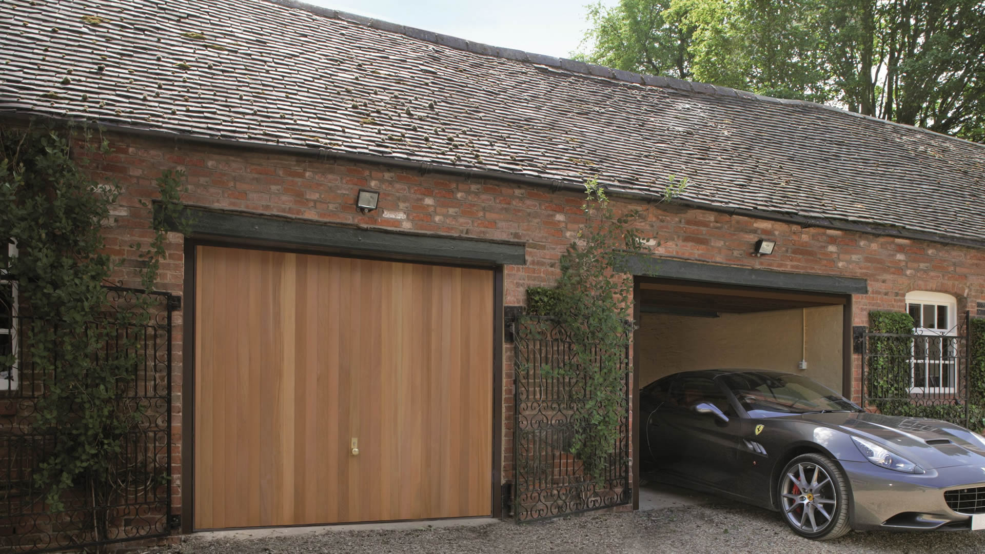 Up and Over Garage Doors by Garage Door and Gate Ltd