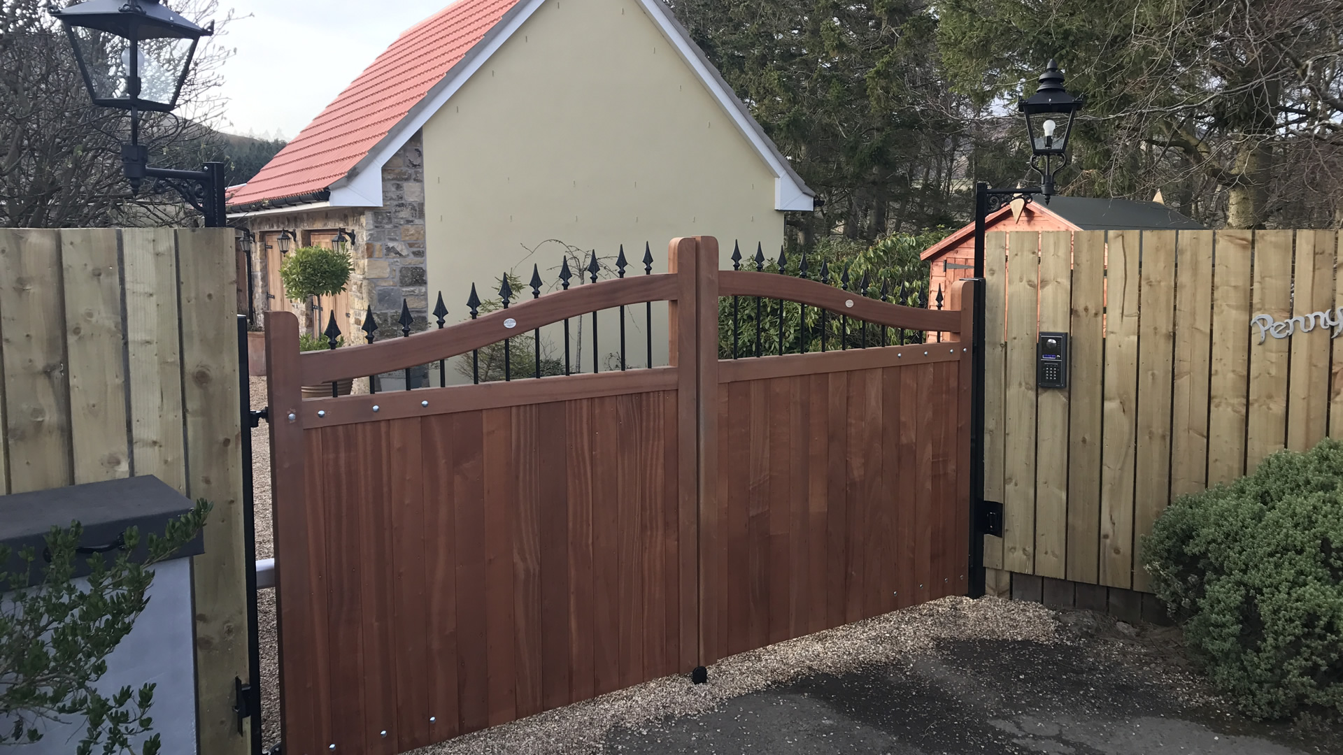 Automatic Garage Gate by Garage Door and Gates