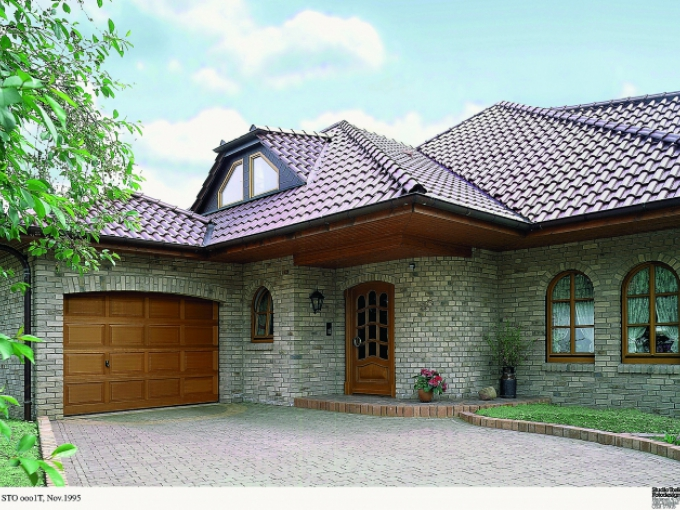 Wooden Sectional Garage Doors by Garage Door and Gate